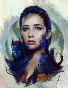 Mystique by avvart.deviantart.com on @DeviantArt