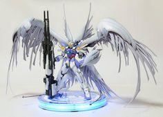 Wing Zero Angel Arte Gundam, Gundam Wing, Gundam Art, Gundam Astray, Gundam Mobile Suit, Gundam Wallpapers, Transformers, Gundam Custom Build, Lego