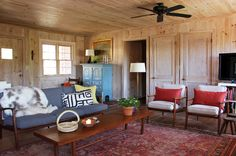 Drop the Paint Brush: Wood Paneling is Officially Cool Again — Rooms That Get It Right