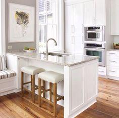 Great layout small kitchen white.