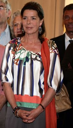 Princess Caroline of Monaco in See by Chloe.