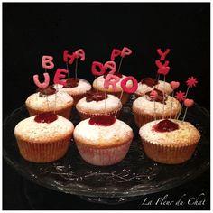 La fleur du chat: Cupcakes alla Nutella o lamponi per augurare buon ...