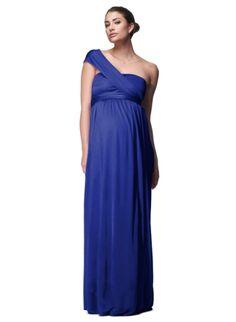 The Wrap Column Maternity Dress | Maternity Dresses | Isabella Oliver Maternity