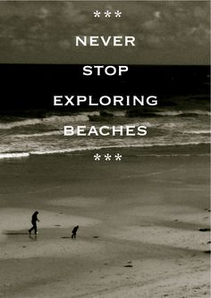 Never stop exploring beaches - ever! #beach #inspiration @Pascale Lemay Lemay De Groof