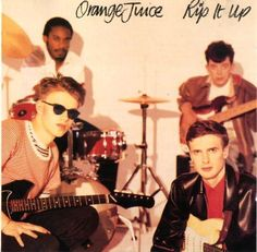 Rip It Up is the second album released by post-punk band Orange Juice. The only Top 40 chart entry for Orange Juice. This reached number 8 during February [via Ryoko Ife] Lp Vinyl, Vinyl Records, Juice Song, Juice 3, Edwyn Collins, Scottish Bands, Rip It Up, Jus D'orange, Indie Pop