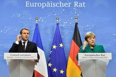 German Chancellor Angela Merkel is considering joining French President Emmanuel Macron at the World Economic Forum in Davos next week in what could turn into an epic clash of competing world views with U.S. President Donald Trump.