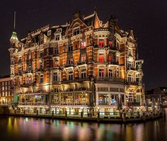 Hotel de l'Europe in Amsterdam,