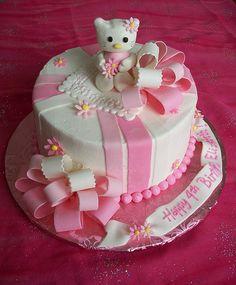 Ideas Para Tortas De Hello Kitty  Fiesta Infantil cakepins.com