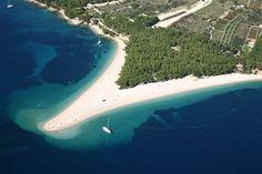 Zlatini Rat Beach Croatia - Chasing the Donkey Croatia