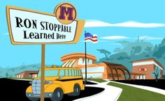 Kim Possible's High School: Home of the Best Welcome Sign | Oh My Disney