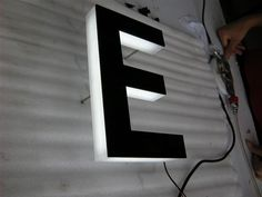 LED sign letters+(3) Other LED sign+Edgelit LED letters 09 - Manufacturing stainless steel letter,aluminium letter,acrylic letter,LED letter,all kinds of sign letter product!