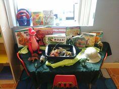Dinosaur discovery station preschool