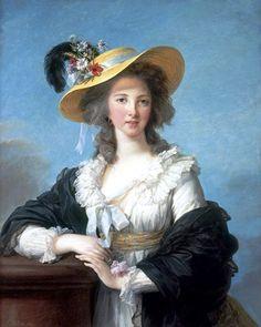 Elisabeth Vigée Le Brun - Yolande-Martine-Gabrielle de Polastron, duchesse de Polignac, 1782