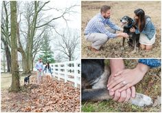 Winter Engagement Photo Session at Rock House Brewing and Keeneland in Lexington, KY. Kentucky Wedding Photographer, Lexington Wedding Photographer, Southern Bride, Southern Wedding, Dog, Kiss, Cute, Ring, Walking. Kevin and Anna Photography www.kevinandannaweddings.com