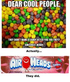 Nerds rock (and we're delicious!) ;-)