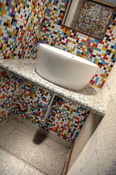 JUBILEE BLEND - Kaleidoscope 20mm Vitreous Glass Mosaic Tiles