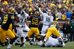 Michigan loses to Michigan State on last-second punter fumble (Video) -Michigan blew its chance to beat Michigan State in unbelievable fashion.