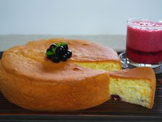 아로니아 케이크 ~부드럽고 달콤한 맛이좋아 !