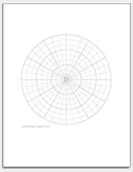 Free printable ternary diagram paper triangular graph paper free printable polar graph paper download and print as many polar coordiate sheets as you need ccuart Gallery