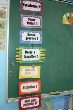Some ideas for my class Classroom Management Tips, Class Management, French Teacher, Teaching French, Conscious Discipline, French Classroom, Classroom Environment, Stage, Teacher Hacks