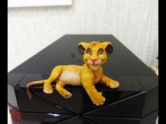 Disney Simba from The Lion King polymer clay tutorial