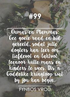 Afrikaanse Quotes, My Land, Bible, Wisdom, Faith, Words, Van, Type 3, South Africa