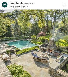 Courtyard Pool, Backyard Pool Landscaping, Backyard Pool Designs, Small Backyard Pools, Swimming Pool Designs, Natural Playground, Playground Ideas, Dream Pools, Outdoor Rooms