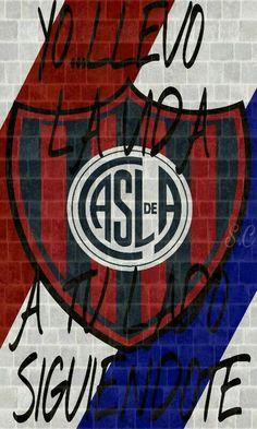 #futbolsanlorenzo Chicago Cubs Logo, Team Logo, Tv, Soccer, Saints, Love, Frases, Football Team, Champs