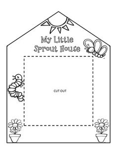 FREE: Grow a garden of sprouts in your own classroom with these sprout houses!