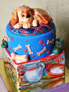 The Little Dog Cake