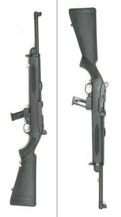 Ruger Police Carbine, simple.  I think it needs some tactical furniture though.