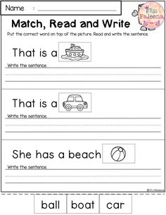August Reading and Writing Practice by Miss Faleena Kindergarten Lessons, Kindergarten Writing, Kindergarten Worksheets, Teaching Reading, Classroom Activities, Holiday Activities, Kindergarten Classroom, Learning, First Grade Worksheets