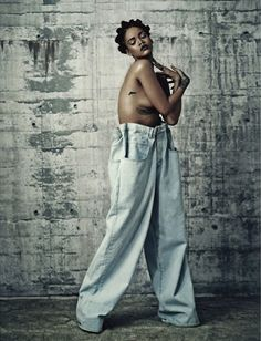 Shot by Paolo Roversi and styled by Alastair Mckimm