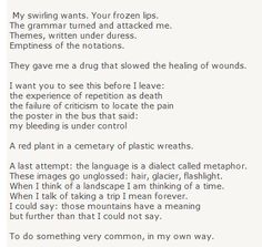 a valediction forbidding mourning adrienne rich