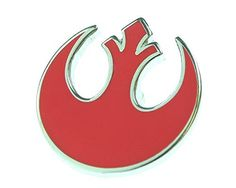 Star Wars Mens Rebel Enamel Silver Plated Suit Collar Lapel Pin @ niftywarehouse.com #NiftyWarehouse #Geek #Products #StarWars #Movies #Film