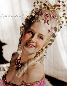 Norma Shearer as Marie Antoinette. Someone needs to colorize that whole movie!