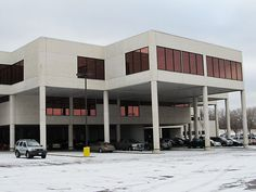 My public library - The Hennepin County Library building at Southdale in Edina, Minn.