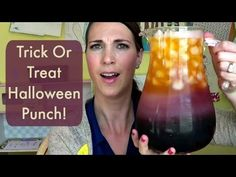Trick Or Treat Halloween Punch FRIDAY! - YouTube
