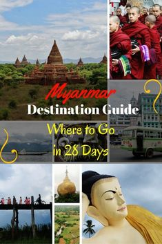 Take full advantage of the 28 day visa & travel overland in Myanmar - from South to North, our itinerary will take you to the top 12 destinations in the Land of the Golden Pagoda!