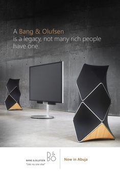 "Read more: https://www.luerzersarchive.com/en/magazine/print-detail/bang-and-olufsen-62188.html Bang & Olufsen A Bang & Olufsen is a legacy, not many rich people have one. Bang & Olufsen. – ""Like no one else."" Tags: Bang & Olufsen,Lekan Akinyele,Fuel Communications, Lagos,Akorede Zakariya,Precious Okorie,Dimtang Bishmang"