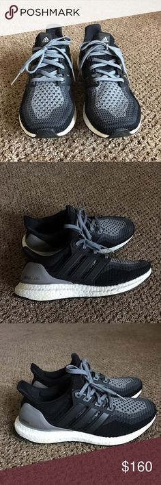 ADIDAS ULTRA BOOST In great condition! Comfortable people say they're like walking on clouds. Women's 7.5 could probably fit and 8 as well. Open to offers! Adidas Shoes Athletic Shoes