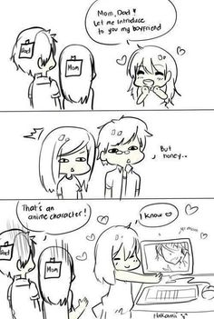 I would SO do this...but I don't think my parents would take that Ichigo was my boyfriend very well...