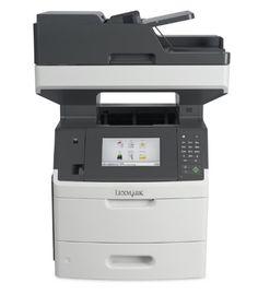 Lexmark MX710DE Monochrome Printer with Scanner, Copier and Fax - 24T7401