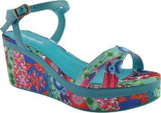 An adorable and eye catching sandal with a stylishly detailed upper.