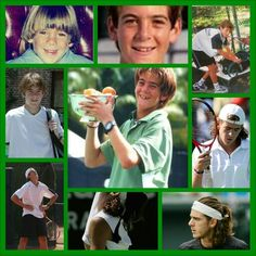My favourite tennisplayer Juan Martin del Potro in his younger years:-)