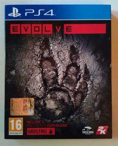 Evolve PS4      by 2K Games     - Usato Pari al NUOVO - Compl. in Italiano