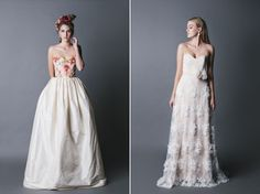 Jennifer Gifford Designs Floral and Feminine Bridal Wear