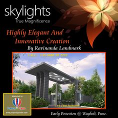 Give yourself the best environment to live in that is possible in an urban city life. Human life is incomplete without living surroundings that promise health wealth and happiness skylights wagholi pune highly elegant residential project offering beautiful surroundings that promise health wealth and happiness Visit http://goo.gl/TTru60