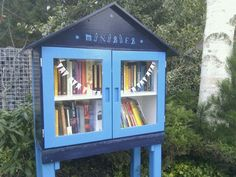 yes! my own little free library, Veenwouden, the Netherlands, by Jitske Jacobs.