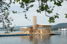 Pavilion of Reflections for Manifesta 11 / Studio Tom Emerson - This summer…